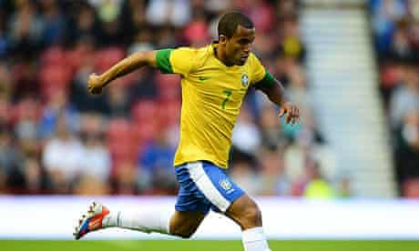 Lucas Moura is currently part of Brazil's London 2012 Olympic football squad