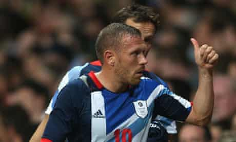 Craig Bellamy of Team GB