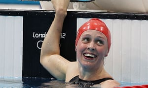 Hannah miley hopes to outstrip 39 diesel 39 on road to olympic swimming gold sport the guardian for Inverurie swimming pool timetable