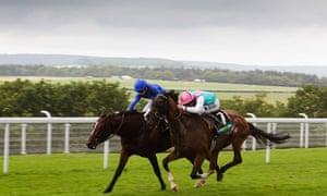 Finish to the 2012 Gordon Stakes