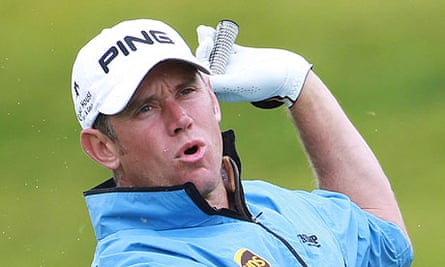 England's Lee Westwood at the French Open
