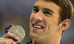 Michael Phelps breaks Olympic record in London