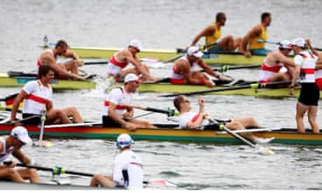 Germany win the men's eight final