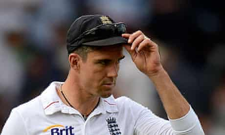 Kevin Pietersen during England's first Test against South Africa