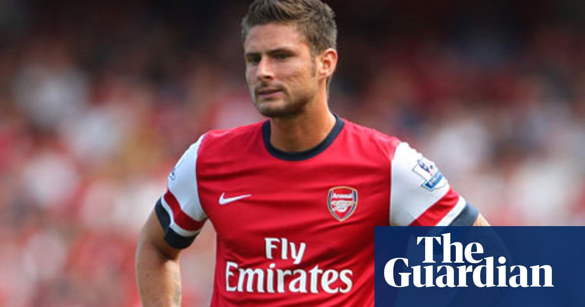 san francisco 32551 ee8a2 Arsenal rue Olivier Giroud miss in goalless opener with ...