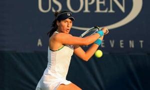Johanna Konta, US Open 2012