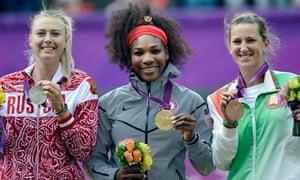 Serena Williams wins gold
