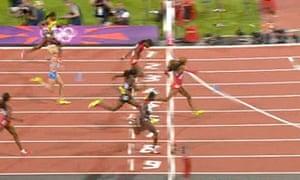 Christine Ohuruogu wins silver