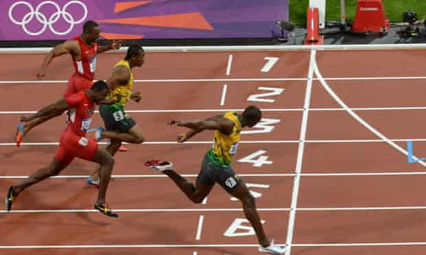 Olympics 100m final: Usain Bolt wins gold in 9.63sec at ...