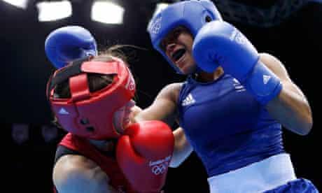 Ireland's Katie Taylor fights