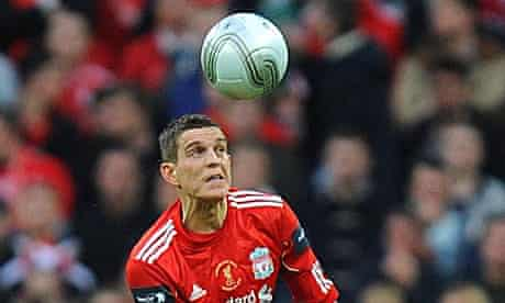Liverpool's Daniel Agger could be moving to Manchester Cit