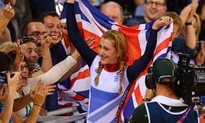 Britain's Laura Trott