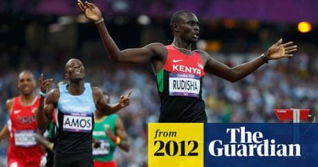 David Rudisha breaks world record to win Olympic 800m gold
