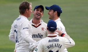 Essex celebrate against Yorkshire