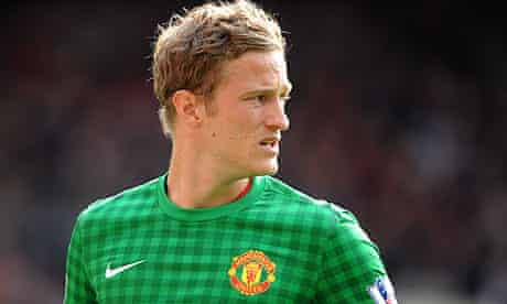 Manchester United's Anders Lindegaard