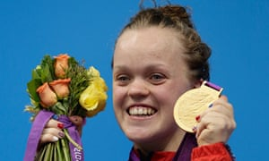 Ellie Simmonds won the gold medal in the S6 400m freestyle