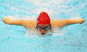 Eleanor Simmonds set a world record in the women's 200m individual medley at the Paralympics