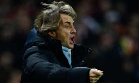 Roberto Mancini, Arsenal v Man City
