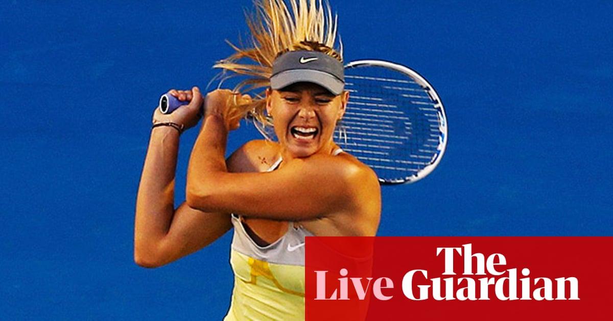 Venus Throws Herself At Waiting Arms Of >> Venus Williams V Maria Sharapova As It Happened Katy