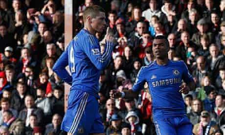 Fernando Torres Chelsea Brentford