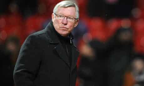 Manchester United's manager, Sir Alex Ferguson