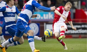 Crawley Town's midfielder Nicky Adams