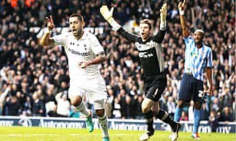 Tottenham Hotspur's Clint Dempsey