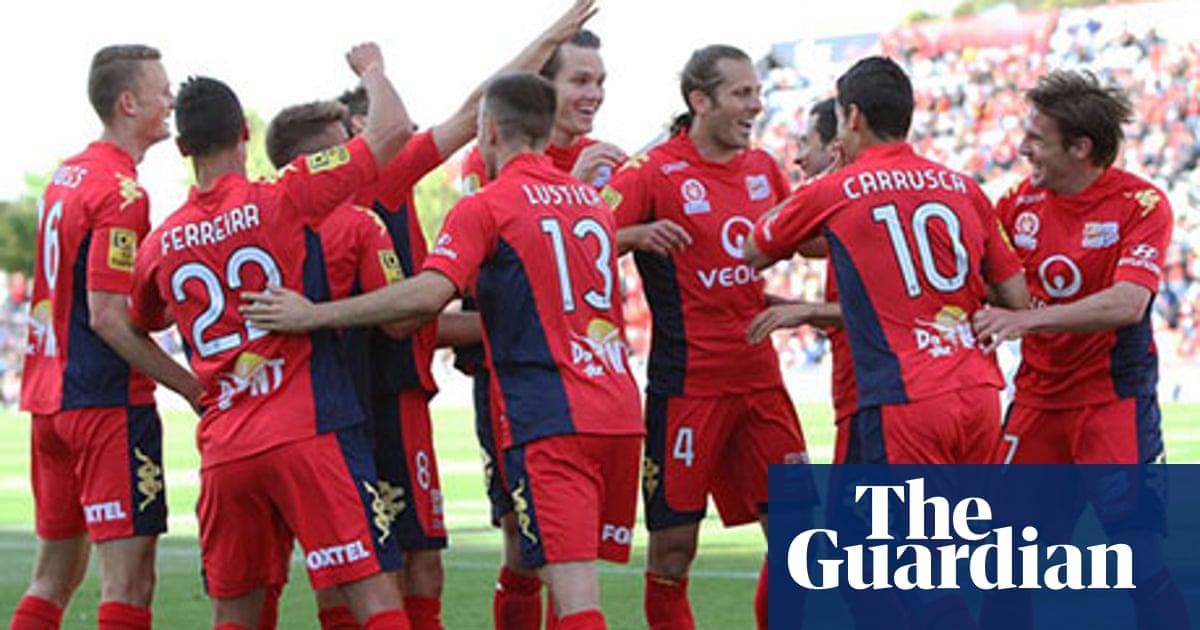 Adelaide United 3-1 Perth Glory   A-League match reprt ...
