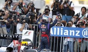 Sebastian Vettel Wins The Japanese Formula One Grand Prix 2013
