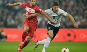 Michael Carrick, England v Poland