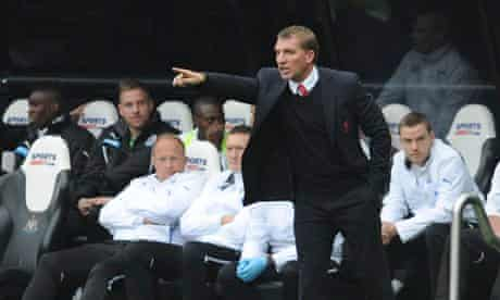 Brendan Rodgers, the Liverpool manager, is building on the seventh place finish last season