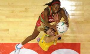 Laura Geitz and Nikjai Kumwenda