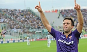 0e46870c546 Giuseppe Rossi celebrates scoring during Fiorentina s remarkable 4-2  victory over Juventus
