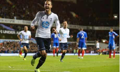 Roberto Soldado Tottenham Hotspur Hull City