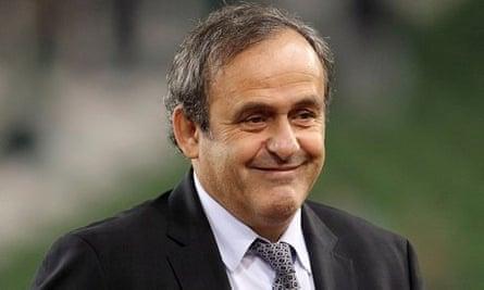 Soccer - Michel Platini File Photo