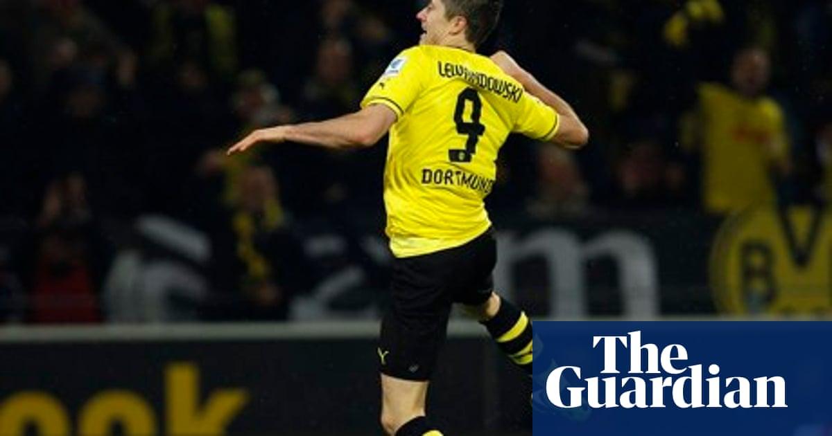 huge selection of 1a718 588bc Borussia Dortmund 6-1 Stuttgart | Bundesliga match report ...