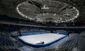Iceberg Skating Palace in Sochi
