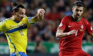 Zlatan Ibrahimovic, Miguel Veloso