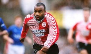 Danny Wallace: 'Kicking the ball was like kicking a balloon