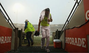 England and Alastair Cook ended the first Test under a cloud