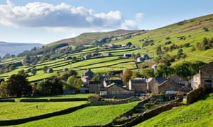 Yorkshire Dales, Swaledale - The village of Gunnerside