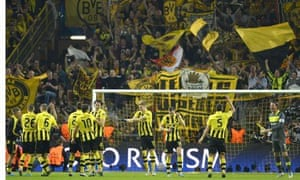 Borussia Dortmund Five Reasons Why They Are Everyone S Second Team David Hytner Football The Guardian