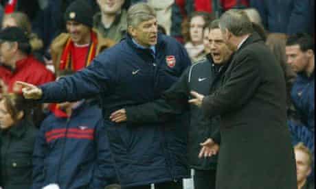 Arsène Wenger Arsenal Sir Alex Ferguson Manchester United