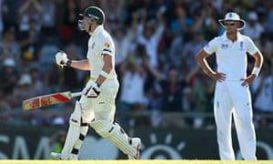Steve Smith of Australia celebrates his century