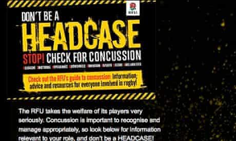 The RFU's 2009 Use Your Head campaign