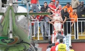 Fan violence in Brazil
