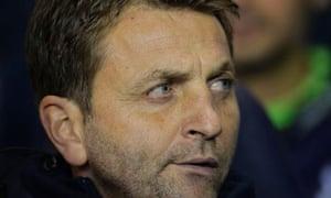 Tim Sherwood, Tottenham's caretaker manager
