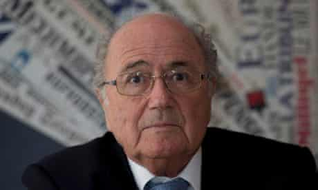 Sepp Blatter, the Fifa president, says he has full faith in Brazil's World Cup organisers.