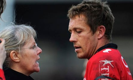 Toulon's Jonny Wilkinson during the Heineken Cup match against Exeter at Sandy Park