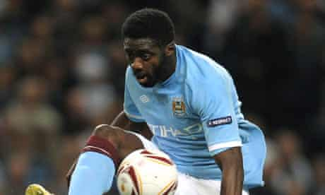 Manchester City's Ivorian defender Kolo